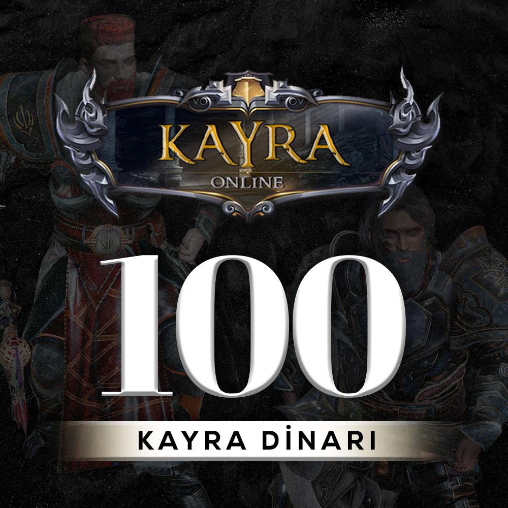100 KAYRA DİNARI