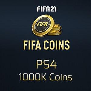 Fifa 21 PS4 1000K Coins