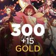 Onmyoji Arena 300 + 15 Gold