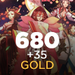 Onmyoji Arena 680 + 35 Gold
