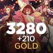 Onmyoji Arena 3280 + 210 Gold