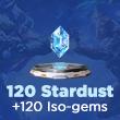 MARVEL Duel 120 Stardust +120 Iso-gems