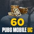 60 PUBG Mobile UC