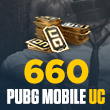 660 PUBG Mobile UC