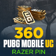 360 PUBG Mobile UC