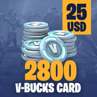 Fortnite 2800 V-Bucks Card - 25 USD