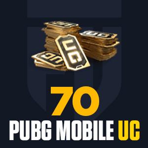 70 PUBG Mobile UC