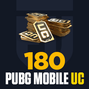 180 PUBG Mobile UC