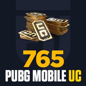 765 PUBG Mobile UC