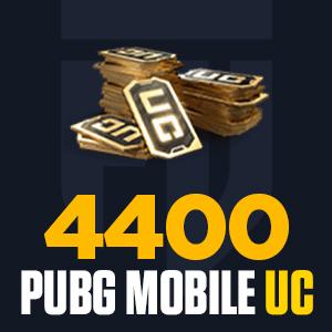4400 PUBG Mobile UC