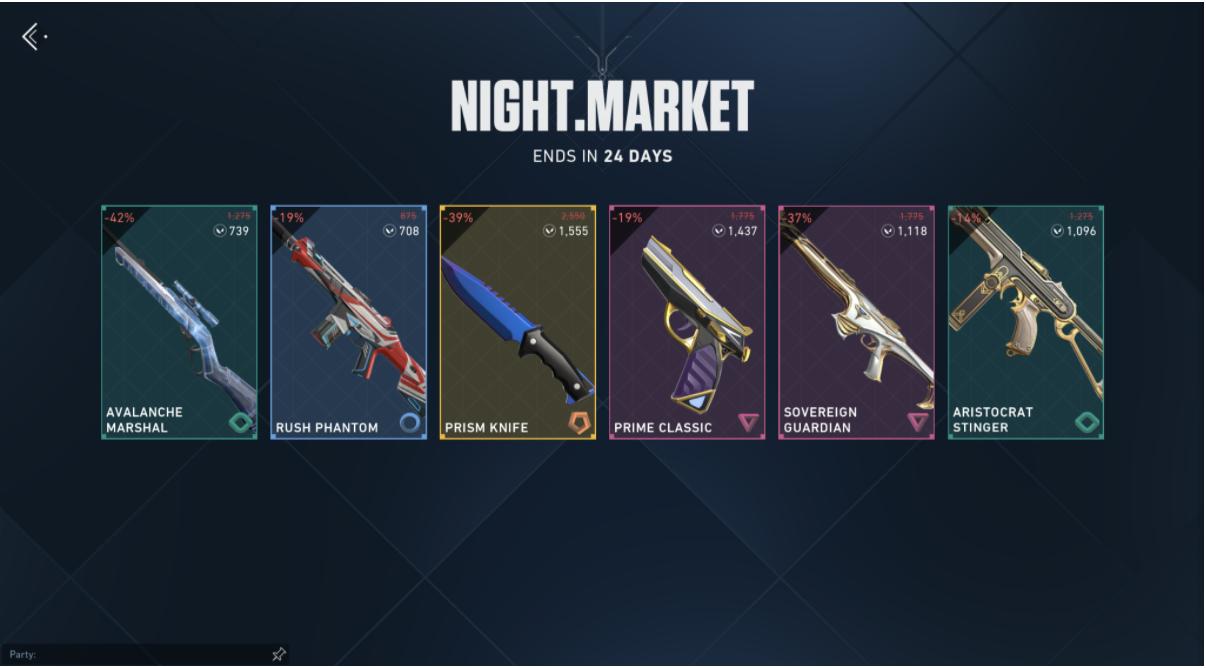 valorant gece pazarı
