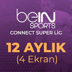 Digiturk Bein Connect Süper Lig 12 Aylık ( 4 Ekran )