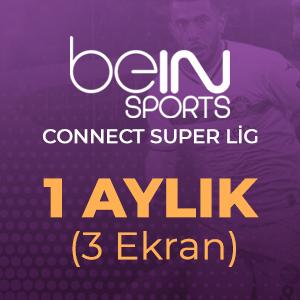 Digiturk Bein Connect Süper Lig 1 Aylık ( 3 Ekran )