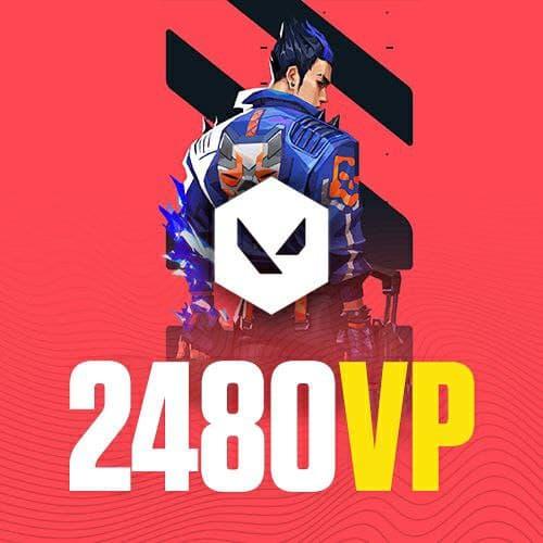 Valorant Points 2480 VP
