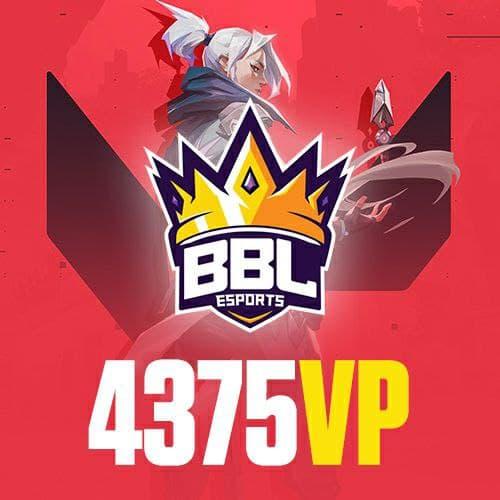 BBL 4375 Valorant Points