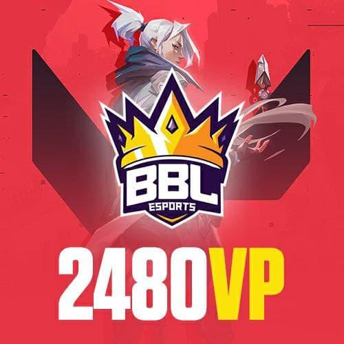 BBL 2480 Valorant Points