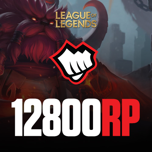 League of Legends 12800 RP Riot Pin