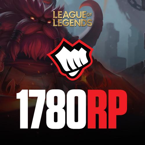 League of Legends 1780 Riot Pin