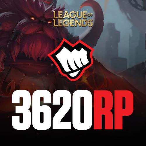 League of Legends 3620 RP Riot Pin