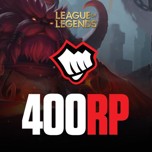 League of Legends 400 RP Riot Pin