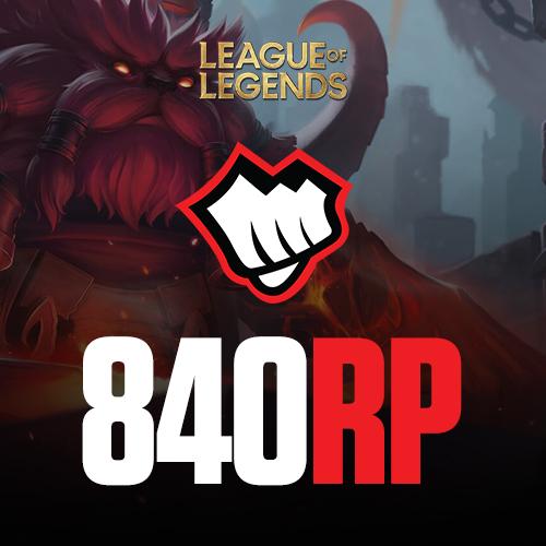 League of Legends 840 Riot Pin
