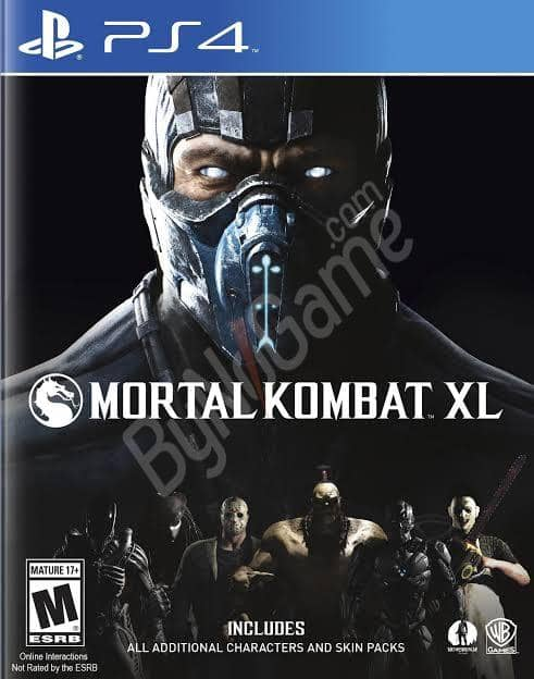 Mortal kombat X...
