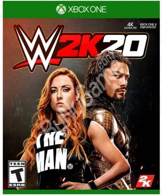 WWE 2K20 - XBOX...