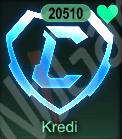 20500 Credits