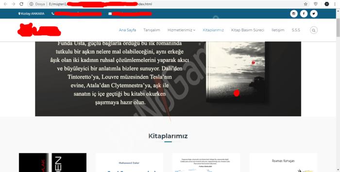 Website Tasarım...