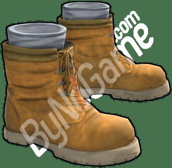 4 Adet Tan Boot...