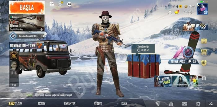 Pubg mobile hes...