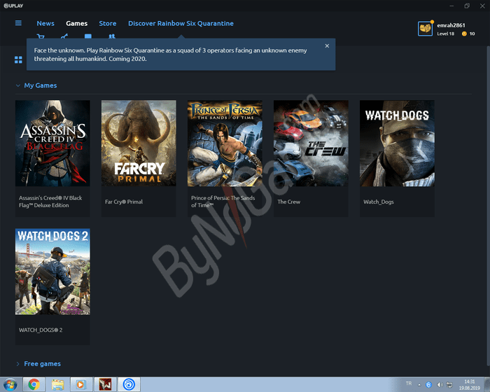 Uplay Account