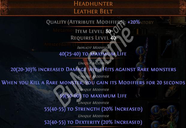 Metamorph Headh...