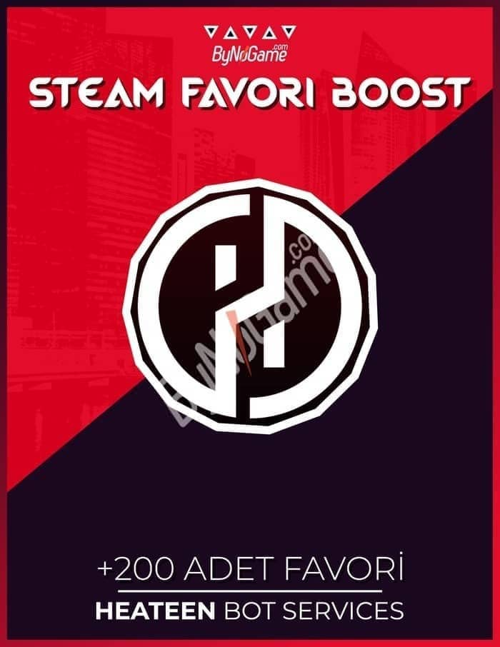 200 Steam Favor...