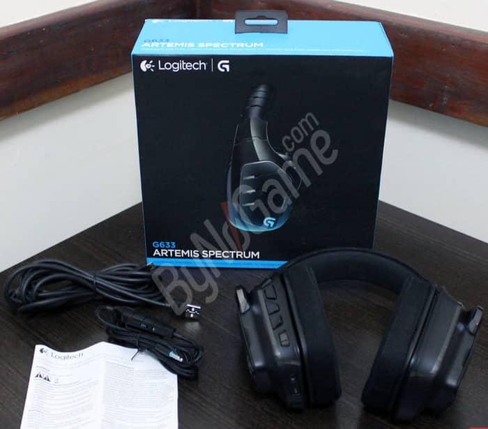 Logitech G633 7...