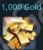 1000 gold = 18....