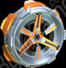 Orange Metalwor...