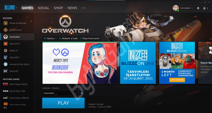Blizzard Overwa...