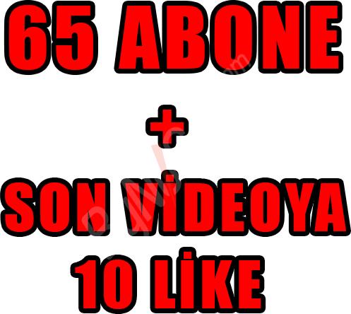 65 ABONE + SON ...