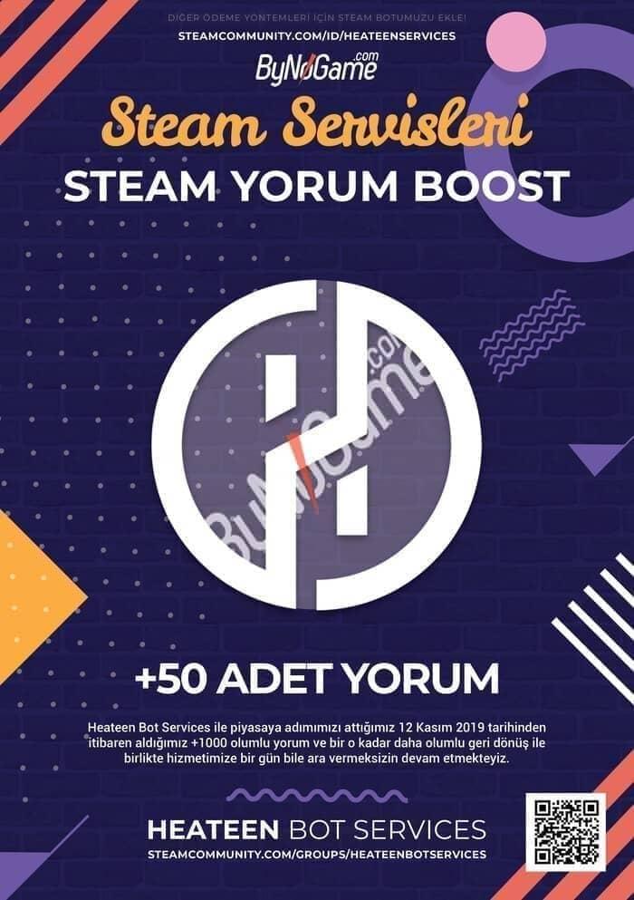 50 Steam Yorum ...