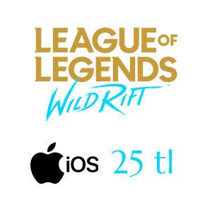 Apple Store 25 TL League of Legends: Wild Rift