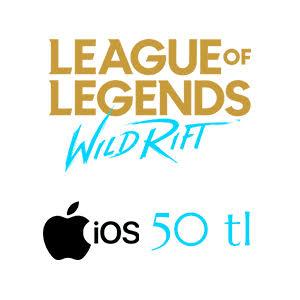Apple Store 50 TL League of Legends: Wild Rift
