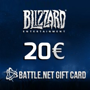 Battle.net Gift Card 20 Euro