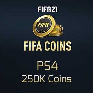Fifa 21 PS4 250K Coins