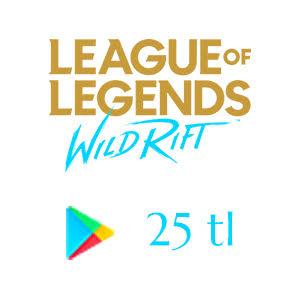 Google Play 25 TL League of Legends: Wild Rift