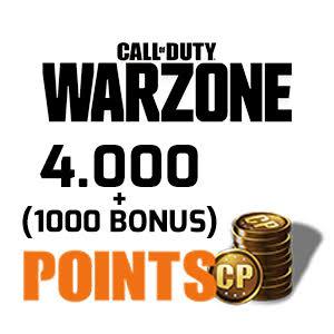 4.000 (+1.000 Bonus) CP