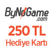 ByNoGame 250 TL Hediye Kartı