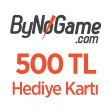ByNoGame 500 TL Hediye Kartı