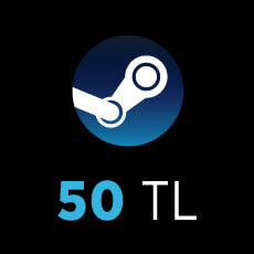 50 TL Steam Wallet Code