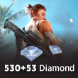 Free Fire 530 + 53 Diamond